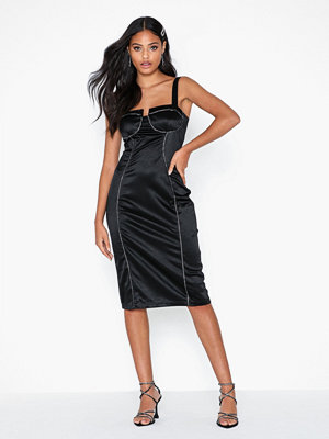 River Island Palma Satin Stud Bodycon