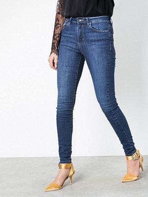 Vero Moda Vmsophia Hw Skinny Jeans Md Bl Noos
