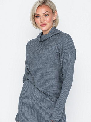 Vila Violiv Knit High Neck L/S Top/L