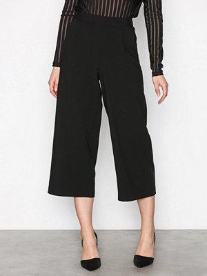 Vero Moda svarta byxor Vmcoco Hw Culotte Pants Noos