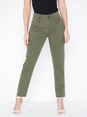 Noisy May omönstrade byxor Nmbronx Nw Cargo Relaxed Pants Noos