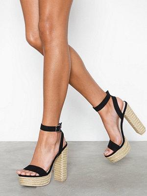 Pumps & klackskor - NLY Shoes Braided Plateau Heel