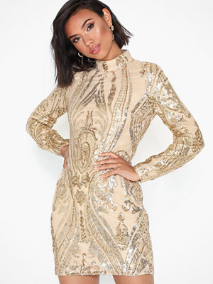 NLY Trend Goldie Sequin Dress