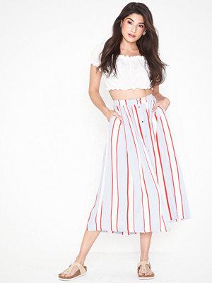 Selected Femme Slfrory Mw Midi Skirt B