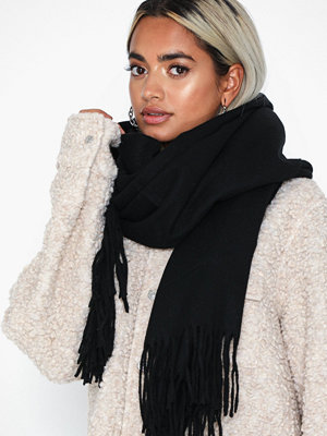 Pieces Pcjira Wool Scarf Noos Svart