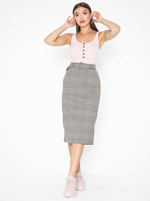 Only Onladriana Midi Check Skirt Wvn