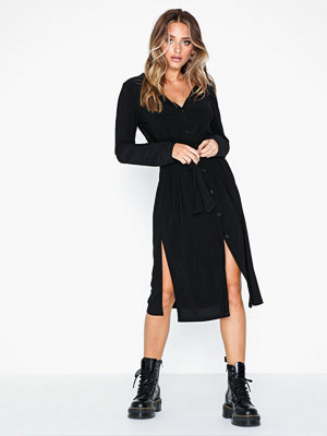 NLY Trend Tie Slit Shirt Dress