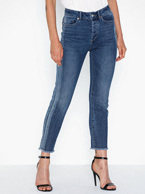 Jeans - Only Onlemily Hw Straight P Ank Dnm Jea