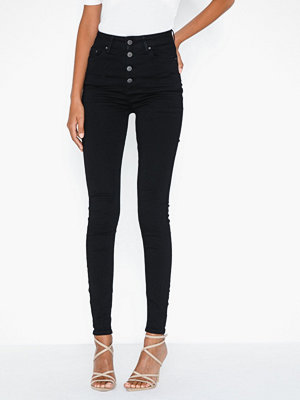 NLY Trend Superstretch Front Button Denim