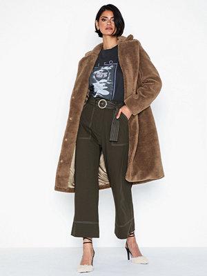 Vero Moda Vmholly Long Teddy Jacket Ki
