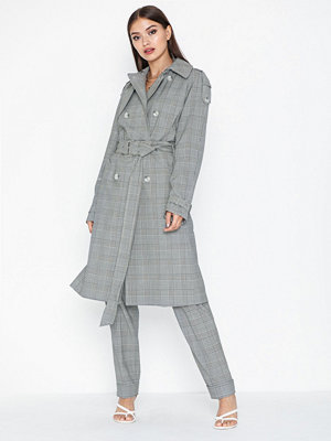 MICHAEL Michael Kors Y.D Glen Plaid Trench