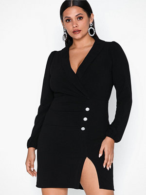 NLY Trend High Slit Suit Dress