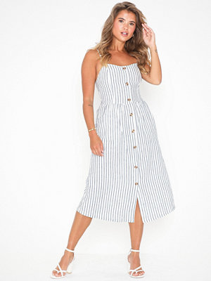 Only Onlluna Strap Stripe Dnm Dress Qy T