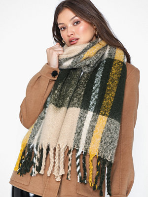 Pieces Pcellie Long Scarf Noos Forest