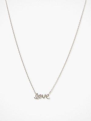 Timi of Sweden halsband Love Script Necklace