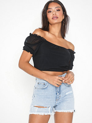 Pieces Pcelina 2/4 Cropped Top