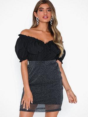 NLY Trend Sparkling Mesh Mini Skirt