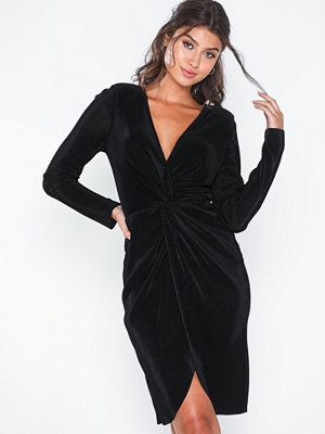 NLY Eve Twisted Pleated Dress