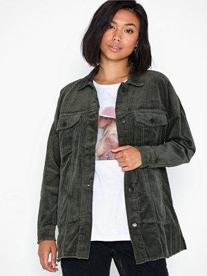 Jacqueline de Yong Jdykris Long Corduroy Shirt Pnt