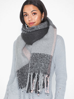 Pieces Pcellie Long Scarf Noos Dark Grey Melange