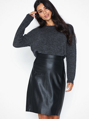 Vero Moda Vmbuttersia Hw Coated Skirt Noos