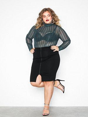 Pieces Pckalin Hw Midi Skirt