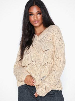Only Onlhavana L/S V-Neck Pullover Cc Kn