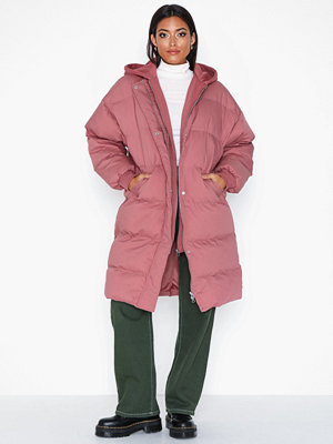Missguided Longline Hooded Puffer Co
