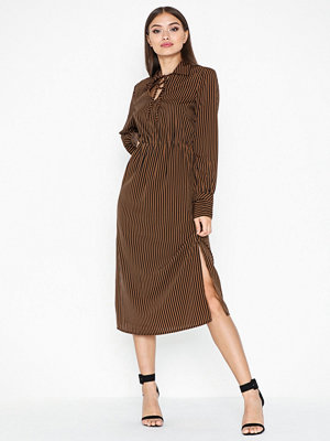 Pieces Pchenny Ls Midi Dress