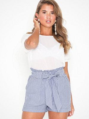 Only Onlsmilla Stripe Belt Dnm Shorts No