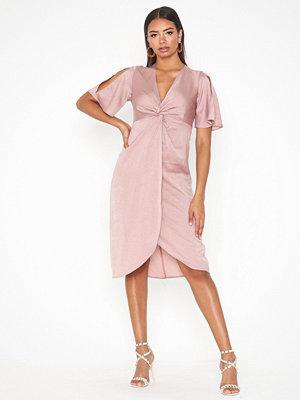 Only onlESTHER S/S Sleeve Medi Dress Wvn