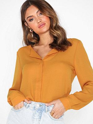 Vila Vilucy L/S Shirt - Noos Orange