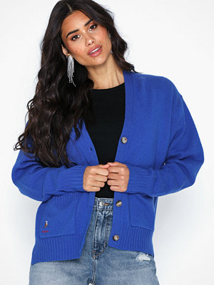 Polo Ralph Lauren Cardigan-Long Sleeve-Sweater Blue