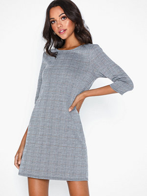 Only Onlbrilliant 3/4 Check Dress Noos