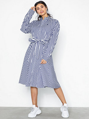 Polo Ralph Lauren Long Sleeve Shirt Dress Navy