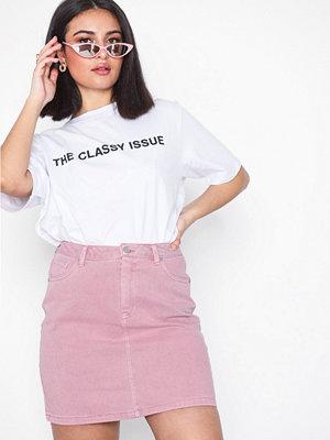 Vero Moda Vmkathy Hr Short Color Denim Skirt