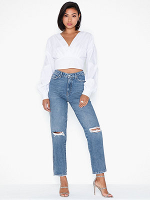 Vero Moda Vmalva Mr Str Loose Dest Jeans BA31