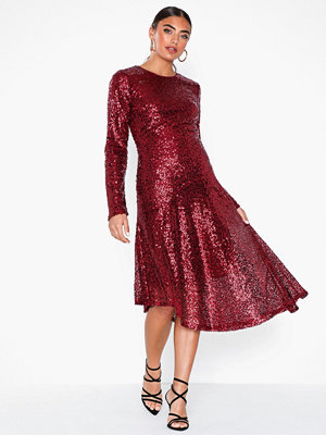 NLY Eve Assymetric Sequin Dress