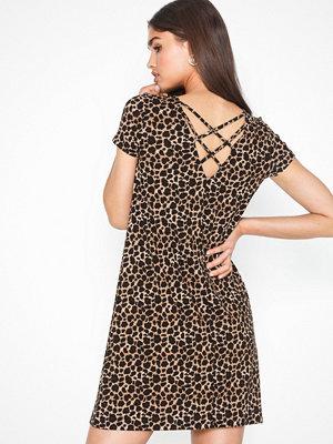 Only Onlbera Back Lace Up S/S Dress Jrs
