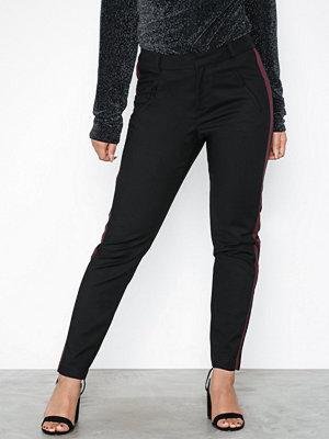 Vero Moda svarta byxor Vmvictoria Mr Panel Ankle Pant Colo
