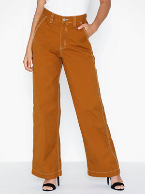 Dr. Denim orange byxor Deena Worker Pants