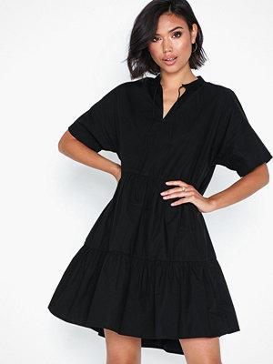 Pieces Pcmarry Ss Dress D2D Svart