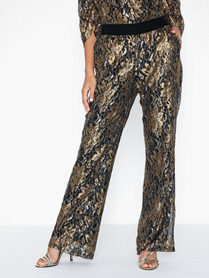 co'couture mönstrade byxor Turner Lace Pant