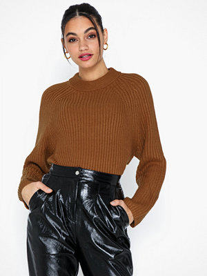 Topshop Knitted Popper Side Jumper