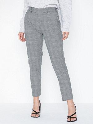 Object Collectors Item grå rutiga byxor Objlisa Slim Pant Noos