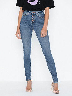 Noisy May Nmcallie Hw Skinny Jeans BA063MB