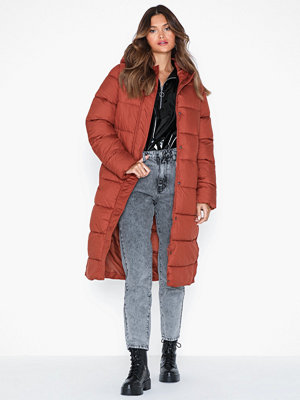 Only Onlcammie Long Quilted Coat Otw