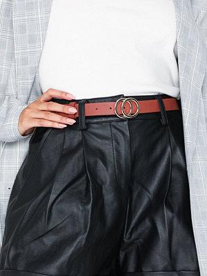 Pieces Pckarren Jeans Belt D2D Red