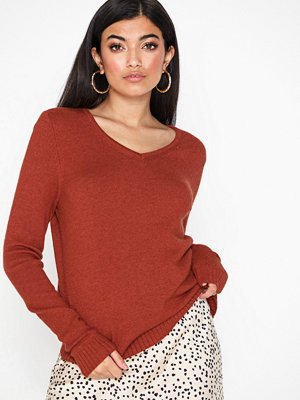 Vila Viril L/S V-Neck Knit Top-Noos