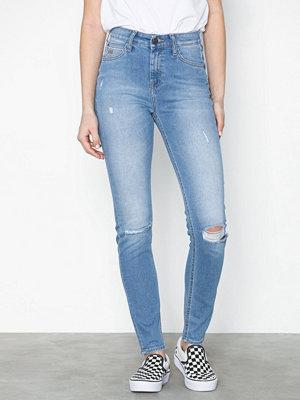 Lee Jeans Scarlett High Blue Slashed